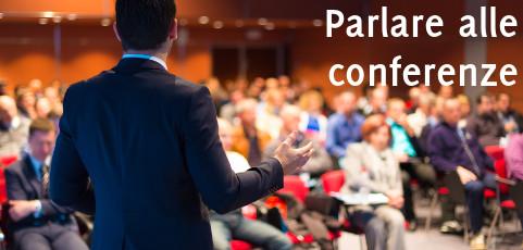 Parlare alle conferenze