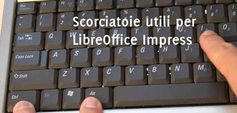 Scorciatoie utili per LibreOffice Impress