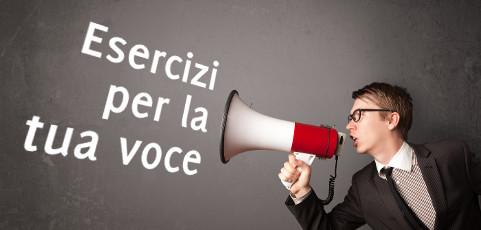 Esercizi per la voce