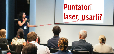 Puntatore laser: usarlo?