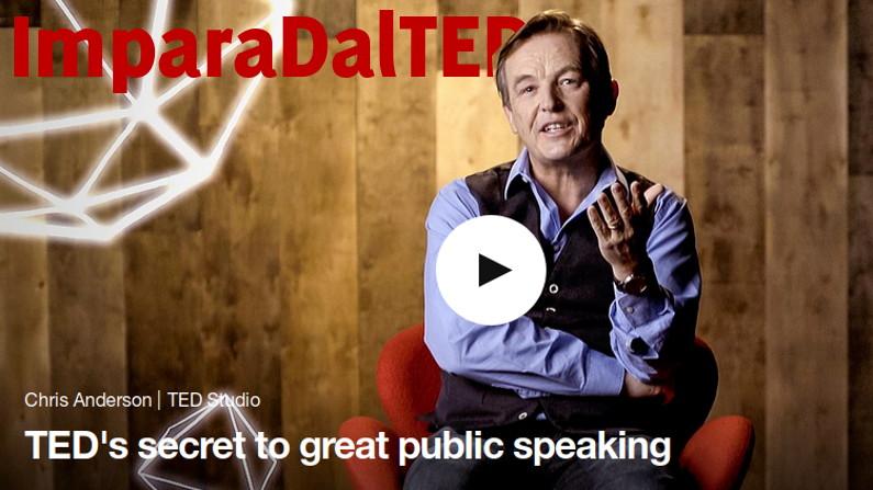 I segreti del TED per parlare in pubblico efficacemente