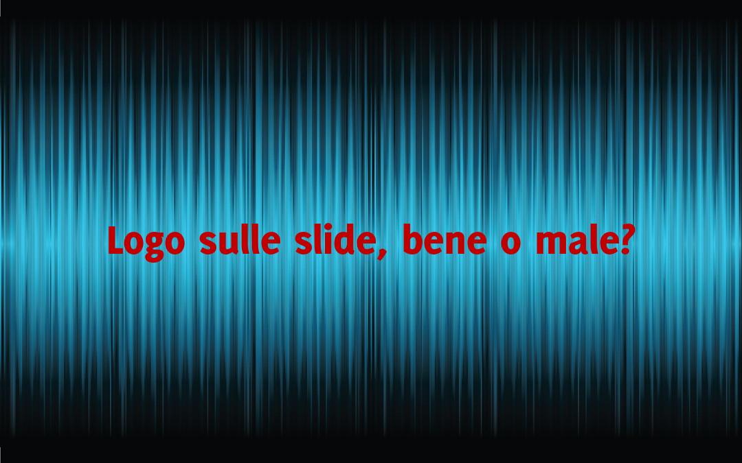 Logo sulle slide