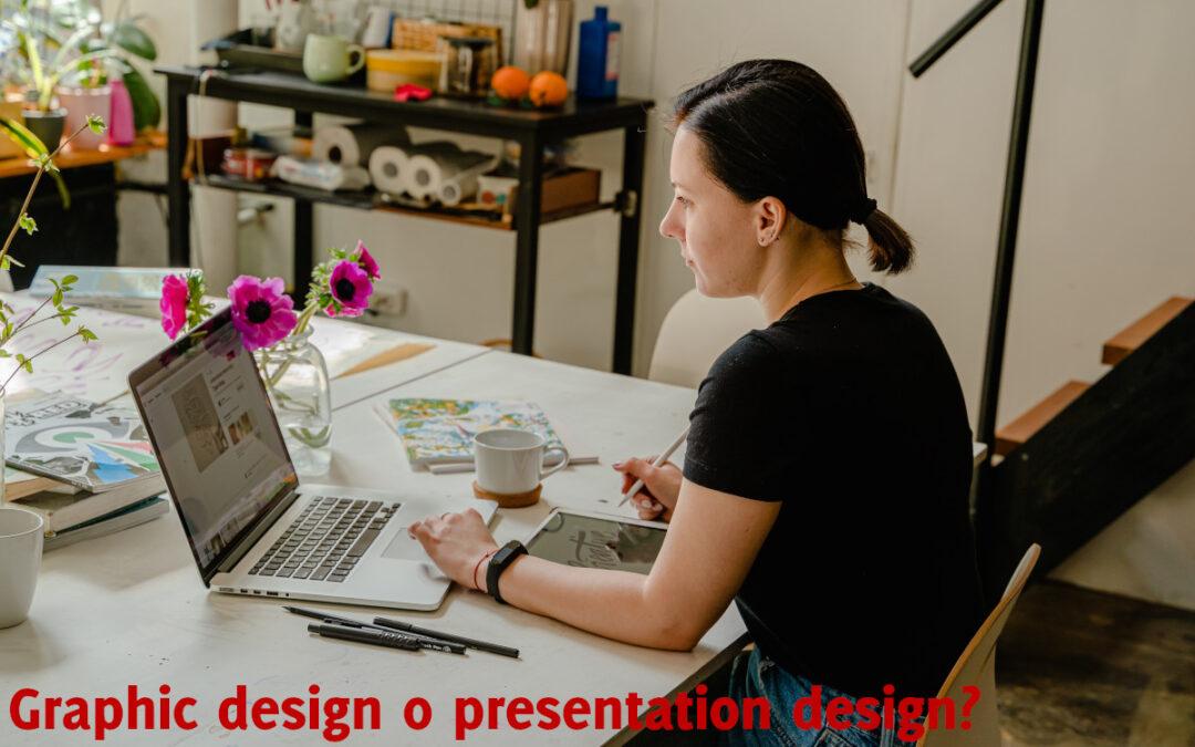 La differenza fra graphic design e presentation design